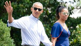 First Family Departs for Martha's Vineyard