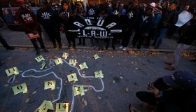 Protest against police violence in Chicago
