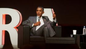 Former Us President Barack Obama Gives Speech In Indonesia