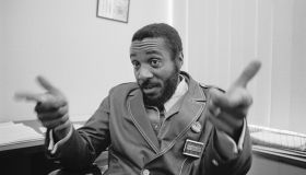 Dick Gregory Making Hand Gestures