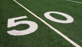 Football 50 yard line