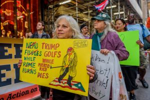 Call to Action in Puerto Rico and Pro Libertad called for a...