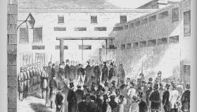 Execution Of Slave Trader Nathaniel Gordon In The Tombs Prison In New York, 1862, (1938)