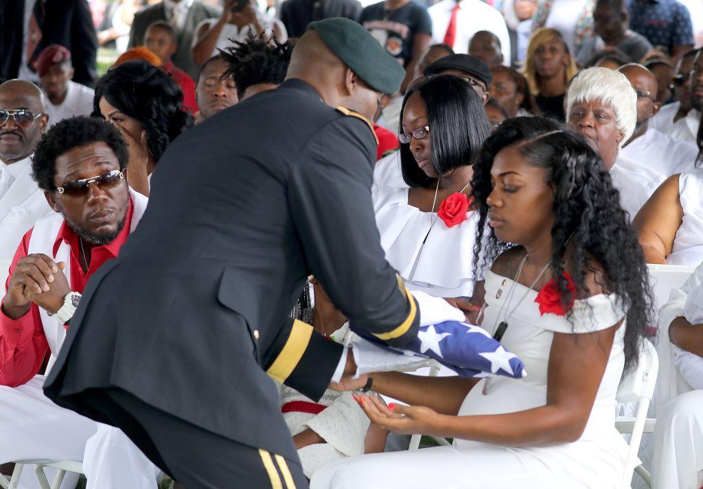 Funeral for Sgt. La David Johnson