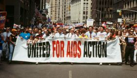 Rally in Support of Aids Victims