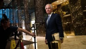 President-Elect Trump Holds Meetings At Trump Tower In New York