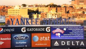 New York Yankees V Baltimore Orioles American League Division Series decider. Yankee Stadium, The Br