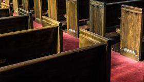 Pews in Ebenezer Baptist Church