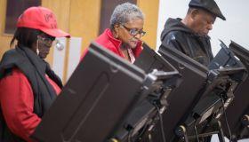 Ferguson, Missouri Residents Vote On Election Day