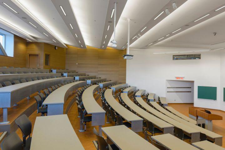 University of Ottawa Faculty of Social Sciences, Ottawa, Canada. Architect: Diamond Schmitt Architects, 2013.