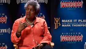 DNC Chair Donna Brazile Speaks With SiriusXM's Mark Thompson For The 'Leading Ladies' Series