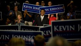 Kevin Johnson announces his candidacy for the position of Sa
