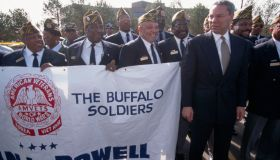 Colin Powell Visits Detroit