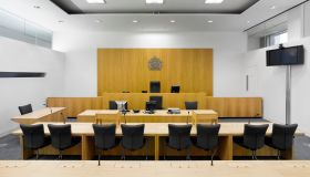 Courtroom in Civil Justice Centre