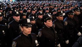 NYPD Graduation Ceremony Held At Madison Square Garden