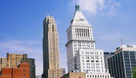 Skyscrapers in a city, Cincinnati, Ohio, USA