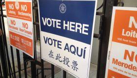 Election Day 2016 Midtown Manhattan