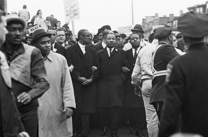 King pushed hard against segregation