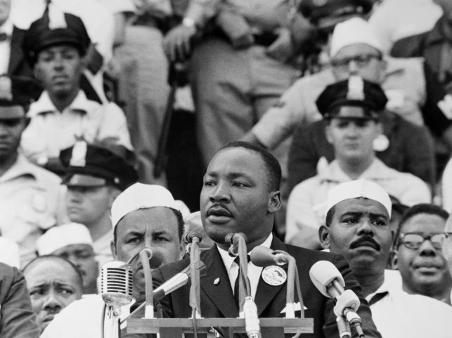 Martin Luther King Giving 'Dream' Speech