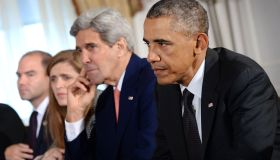 NY: US President Barack Obama Bilateral Meeting With Ethiopia.