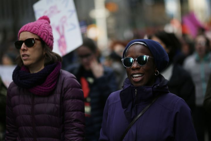 Women's March 2018 in New York