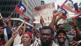 Haitians Against Police Brutality
