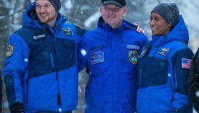 ISS Expedition 54/55 crew leave Star City, Russia for Baikonur
