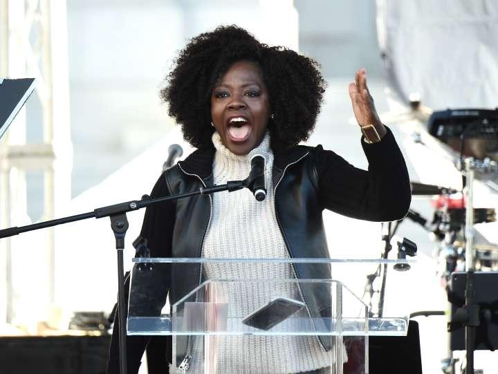 Viola Davis inspires!