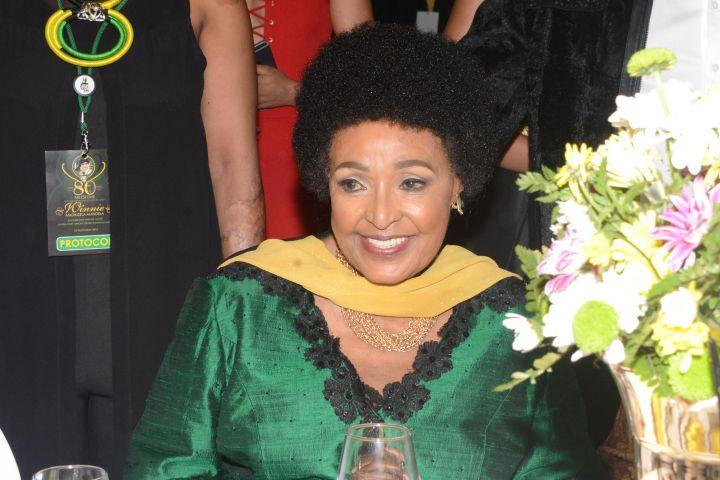 Winnie Madikizela-Mandela, 81