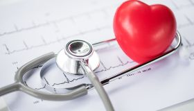 heart disease,Stethoscope and heart,diagnose