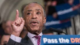 Reverend Al Sharpton is seen in City Hall. Following...