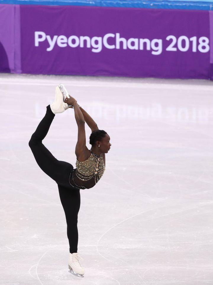 Maé Bérénice Méité, 2018 Winter Olympics