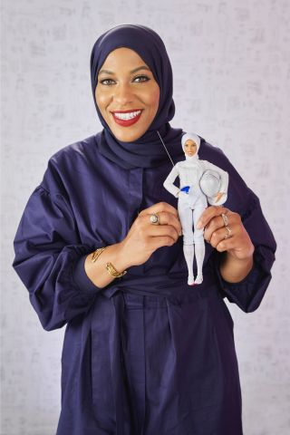 Barbie Honors Ibtihaj Muhammad With One-Of-A-Kind Doll At Glamour Women Of The Year Summit