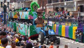 Zulu Parade on Mardi Gras Day in New Orleans