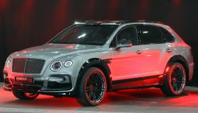 Bentley Bentayga on display at the Essen Motor Show Preview...