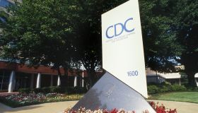 The front entrance of the Center for Disease Control and Prevention (CDC) in Atlanta, Georgia.