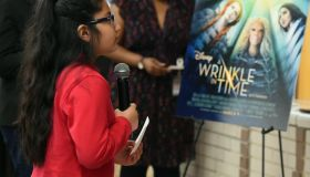 A Wrinkle In Time Star Storm Reid Celebrates 'Read Across America Day' At Chesnut Elementary, Her Former School In Atlanta