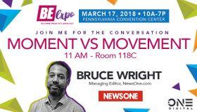 Bruce Wright Be Expo 2018