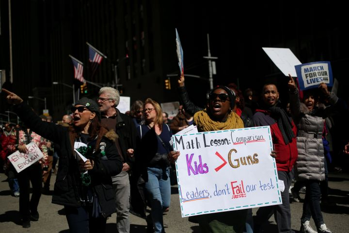 'March for our Lives' Protest in New York