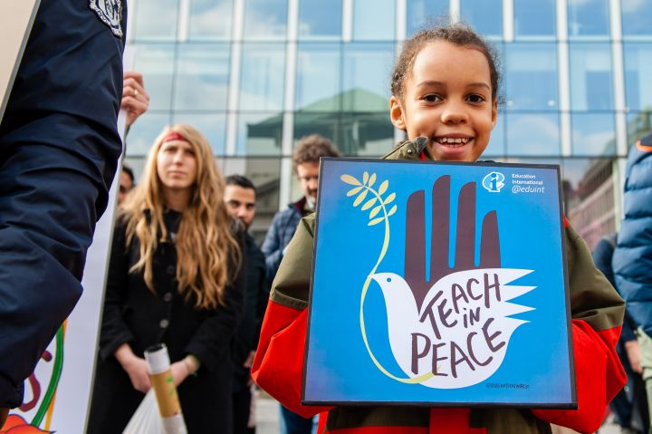 March For Our Lives in Brussels