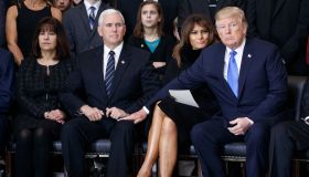 Rev. Billy Graham Lies In Repose In U.S. Capitol Rotunda