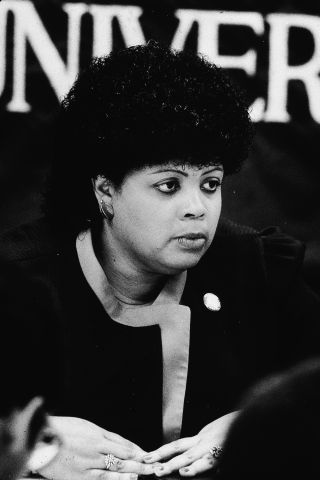 Linda Brown Speaks To Reporters