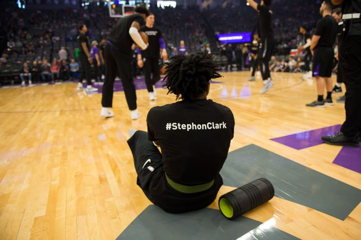 Sacramento Kings Shout Out Stephon