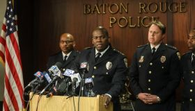 Baton Rouge Police Chief Announces Disciplinary Decision On Officers Who Shot Alton Sterling