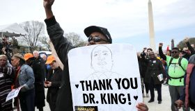 Silent Prayer Walk And Rally Marks 50th Anniversary Of Martin Luther King Jr.'s Assassination