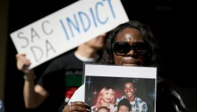 Protesters Rally At Sacramento District Attorney's Office After Stephon Clark's Funeral