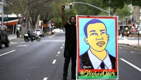 Activists Protest Death Of Stephon Clark During Day Of Action In Sacramento