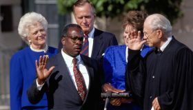 Clarence Thomas Sworn In as Associate Justice