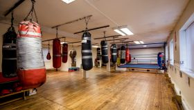 Boxing Ring and Fitness Gym