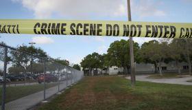 Teachers From Marjory Stoneman Douglas High School Return After School Shooting